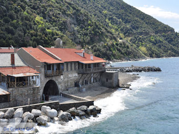 Haven Dafni - De Heilige Berg Athos 009 | Athos gebied Chalkidiki | Griechenland - Foto GriechenlandWeb.de