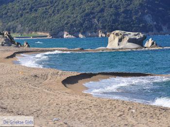 Zandstrand Ierissos foto 8 | Athos gebied Chalkidiki | Griekenland - Foto van De Griekse Gids