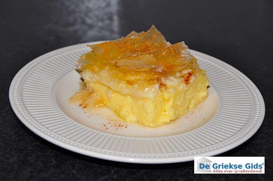 Recept galaktoboureko