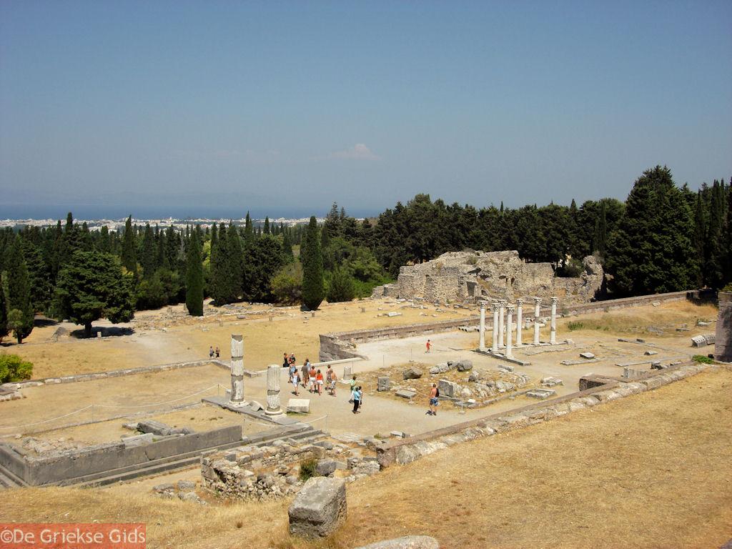 foto Asklepieion Kos - Griekse Gids Foto 2
