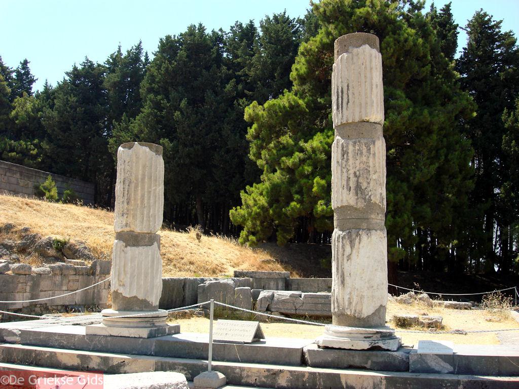 foto Asklepieion Kos - Griekse Gids Foto 13
