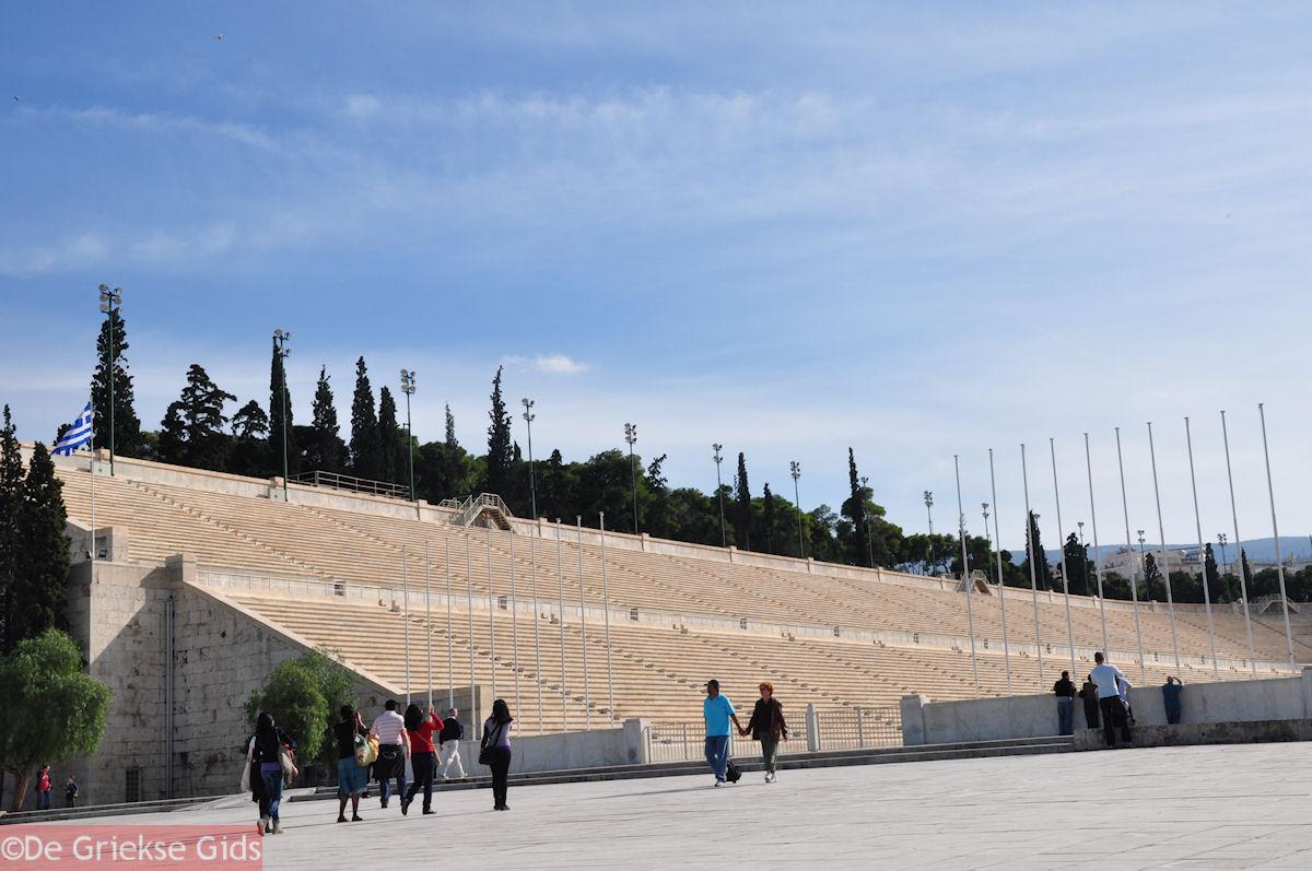 foto De eerste moderne Olympische spelen werden hier gehouden