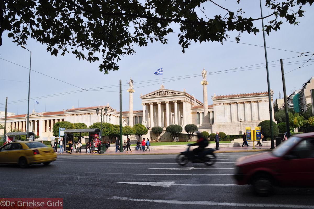 foto De Academie aan de Panepistimiou street