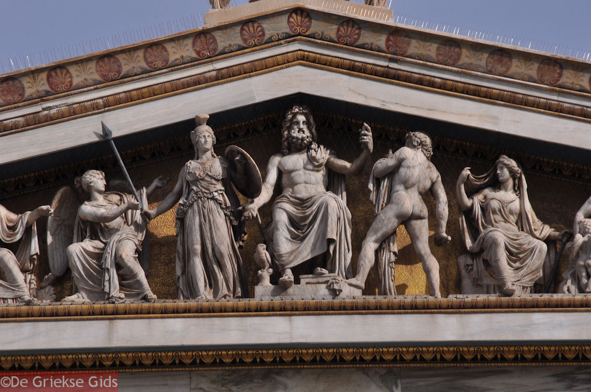 foto Beelden Academie Athene