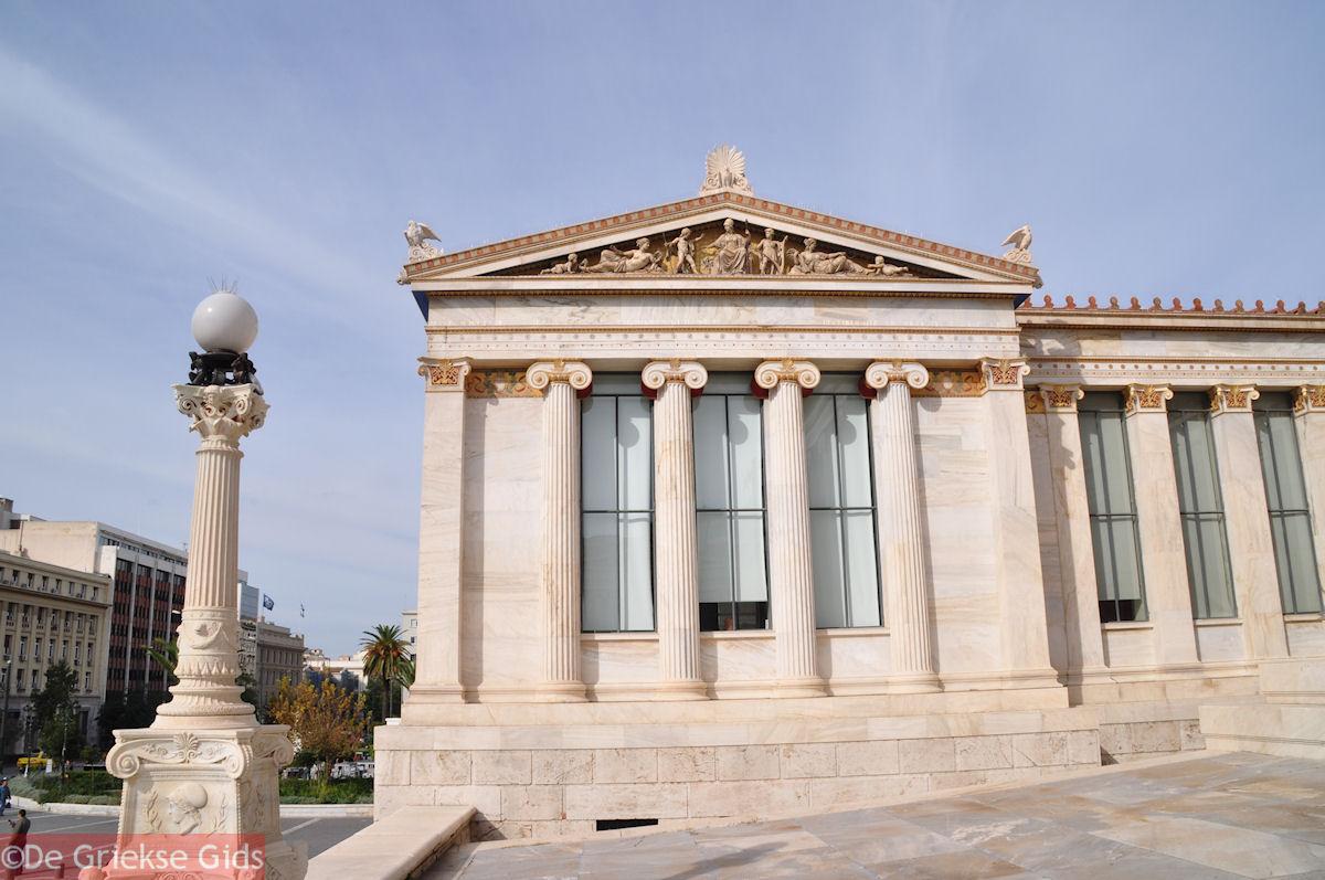 foto De prachtige Academie van Athene