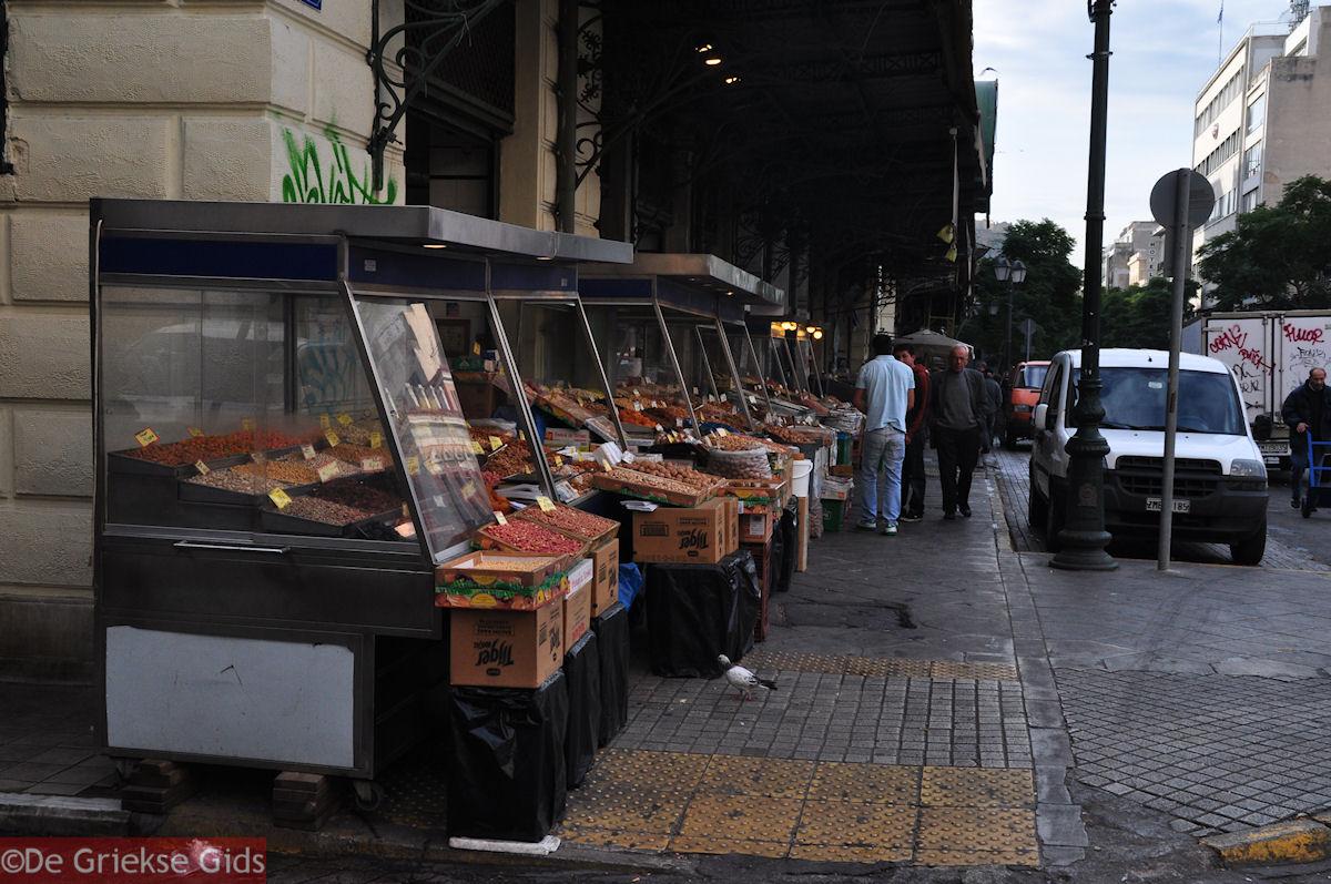 foto De markt aan de Athinas straat - Markt Athene