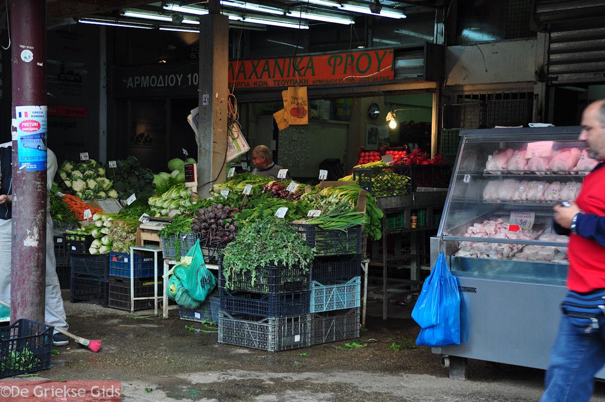 foto Groentemarkt Athene - Markt Athene
