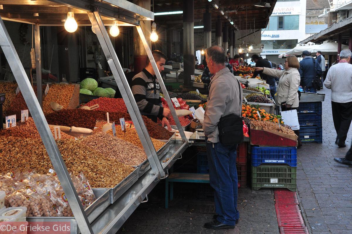foto Alle soorten noten - Markt Athene