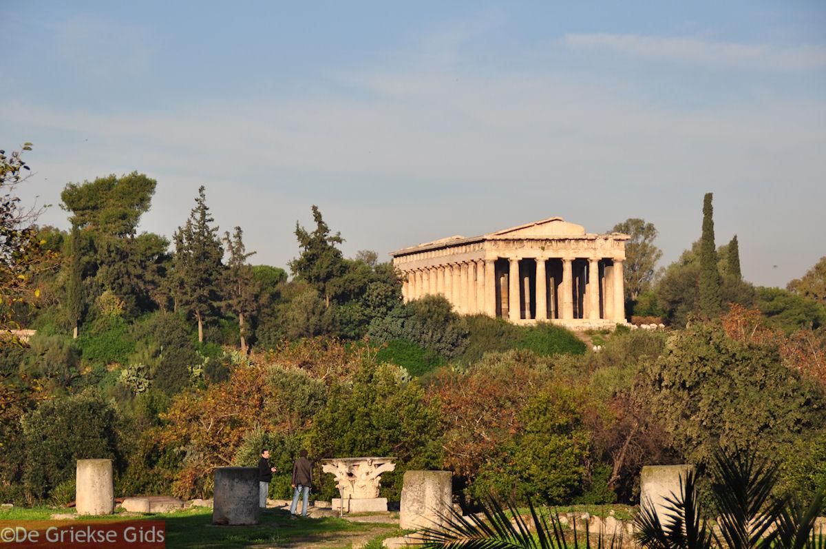 foto Mooie foto van het Theseion (Tempel van Hephaestus)