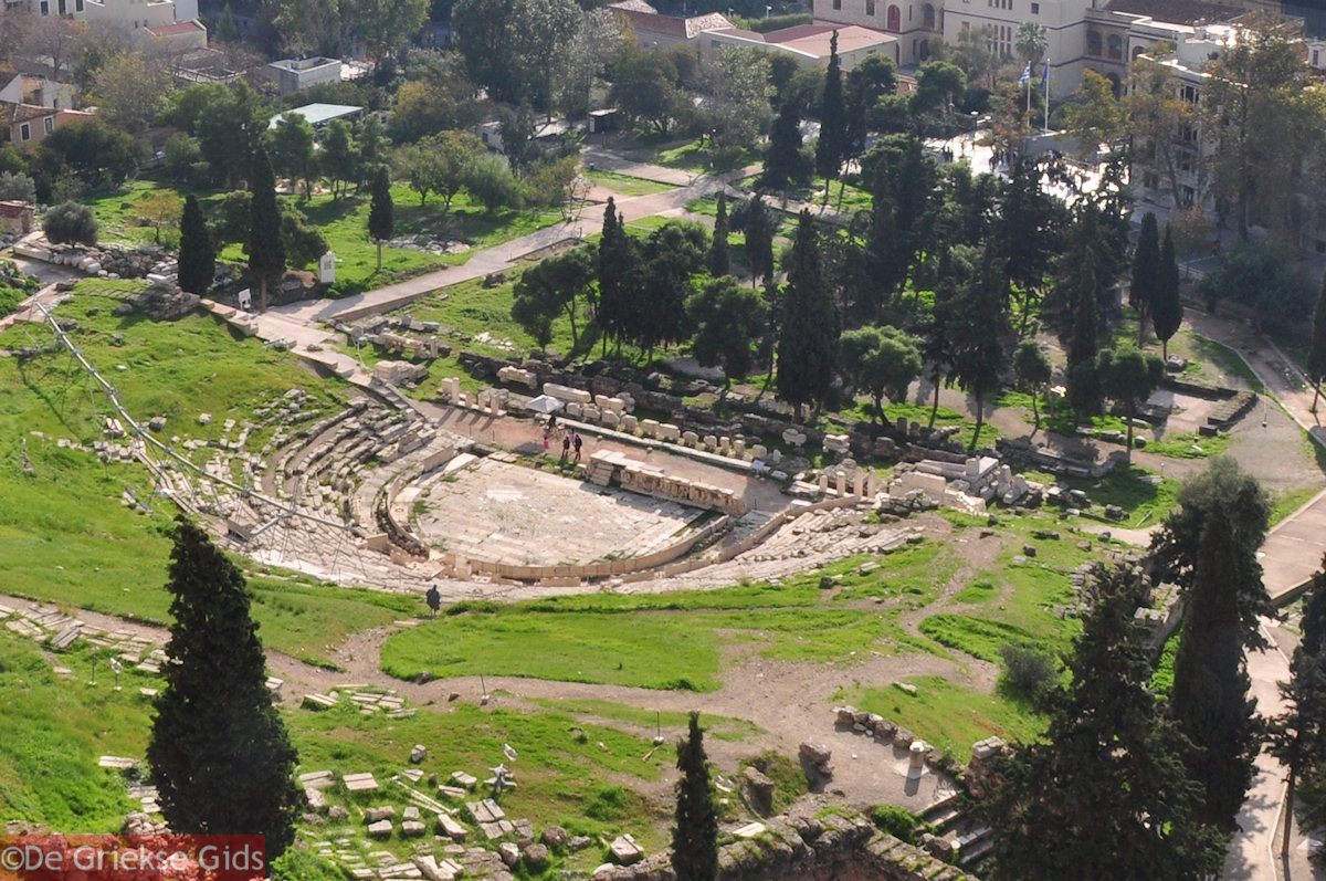 Dionysostheater Athen Attika  Urlaub in Dionysostheater ...