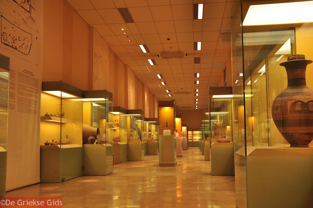foto Het museum in de Stoa van Attalos