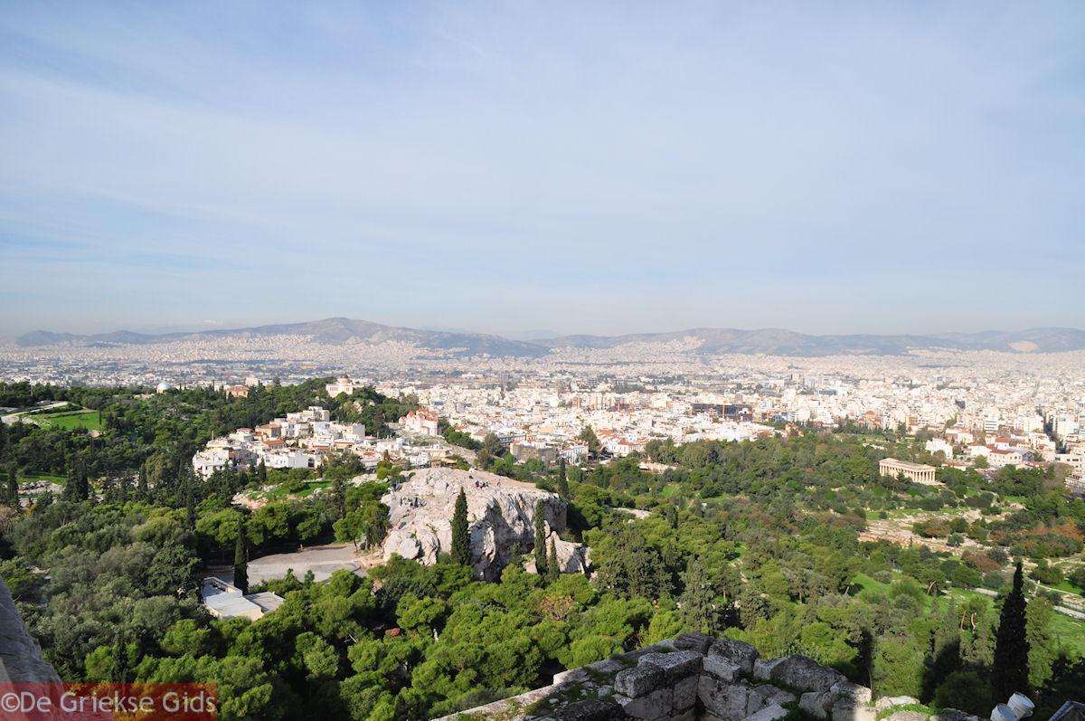 foto Panoramafoto: Pnyx-heuvel, Arios Pagos en Theseion
