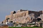 Akropolis vanaf de Adrianus poort - Foto van De Griekse Gids