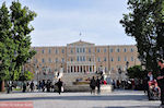 Het Griekse Parlement vanaf het Syntagmaplein - Foto van De Griekse Gids