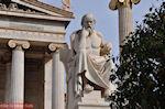GriechenlandWeb Beeld van Socrates (2m 40 cm): Academie Athene - Foto GriechenlandWeb.de
