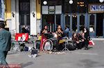 GriechenlandWeb.de Live optreden aan het Omonia Plein - Foto GriechenlandWeb.de