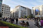 Het Omonia plein in het hart van Athene