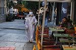 Aiolou Street: een mime speler net als in Amsterdam - Foto van De Griekse Gids