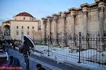 GriechenlandWeb.de De Romeinse bibliotheek aan de Areos straat in Monastiraki - Athene - Foto GriechenlandWeb.de