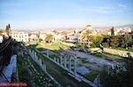 Zicht op de Romeinse Agora van Athene - Foto van De Griekse Gids