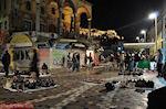 GriechenlandWeb.de s avonds auf het Monastiraki plein - Athene - Foto GriechenlandWeb.de