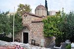 Kerkje aan de Agion Asomaton straat van Keramikos - Athene - Foto van De Griekse Gids