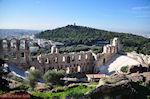 Het Odeion van Herodes Atticus - Aan de overkant de Philopapou-heuvel - Foto van De Griekse Gids