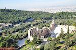 GriechenlandWeb.de Panoramafoto: het zuidoosten van de Akropolis - Foto GriechenlandWeb.de