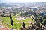 Panoramafoto: de westelijke kant van de Akropolis-heuvel - Foto van De Griekse Gids