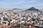 JustGreece.com De Likavitos heuvel gezien vanaf de Akropolis - Foto van De Griekse Gids
