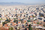 Vanaf de Akropolis: voorin de wijken Anafiotika en Plaka - Foto van De Griekse Gids