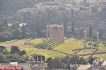 De tempel van Zeus Olympius gezien vanop de Akropolis - Foto van De Griekse Gids