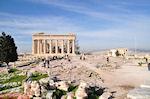 GriechenlandWeb.de Schitterend weer auf de Akropolis - Foto GriechenlandWeb.de