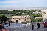De Propylaia met aan de overkant de Pnyx heuvel - Foto van De Griekse Gids