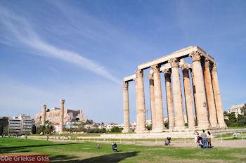 Zeus Olympius tempel - Akropolis - Foto van De Griekse Gids