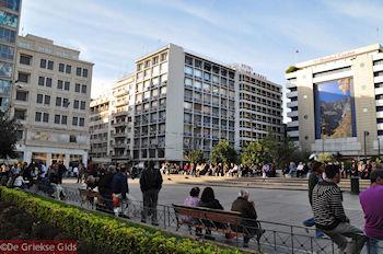 Omonia-plein in Athene - Foto von GriechenlandWeb.de