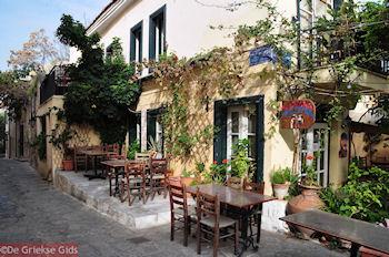 Thrasivoulou straat - Anafiotka - Plaka - Athene - Foto van De Griekse Gids
