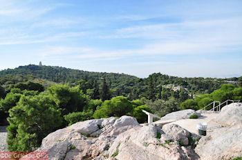 Arios Pagos, aan de overkant de Philopapou heuvel - Foto von GriechenlandWeb.de