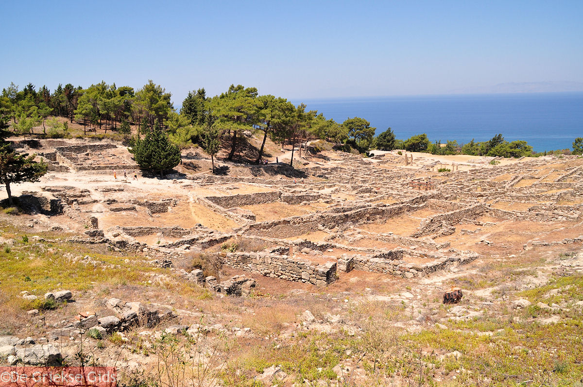 foto Kamiros (Rhodos) werd door Doriers gesticht