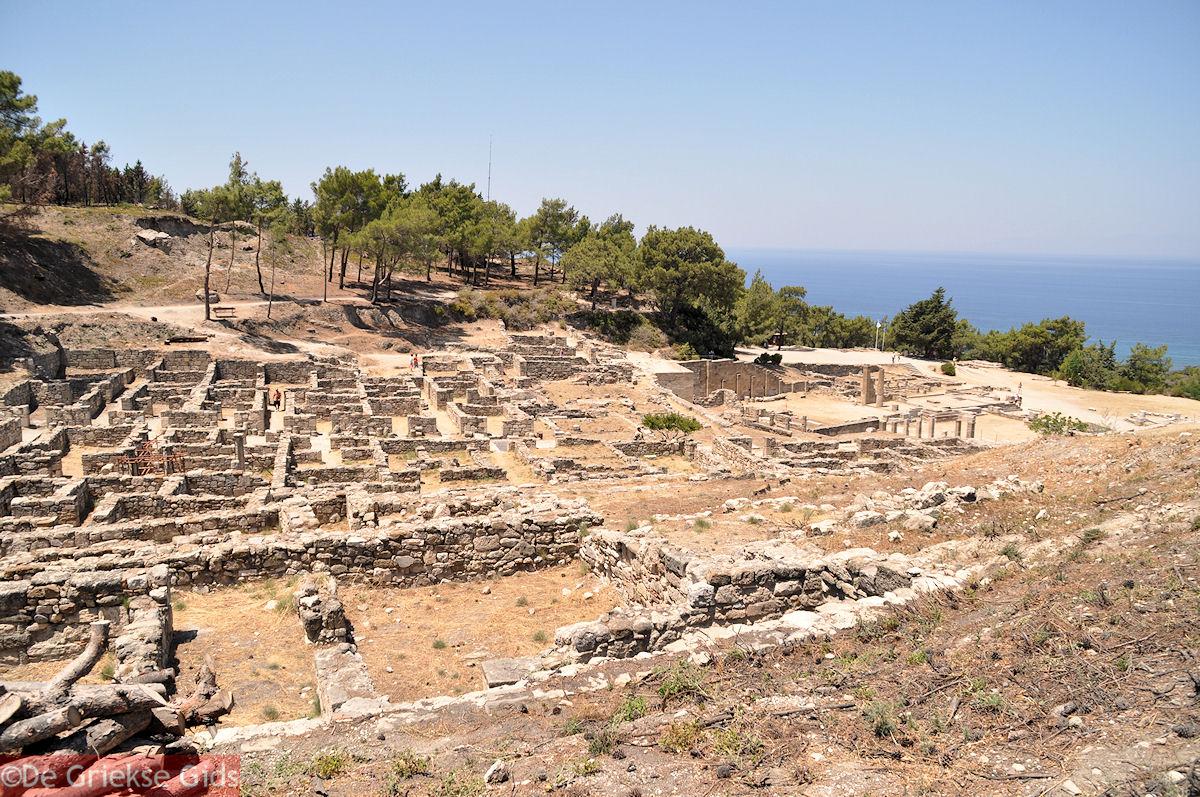 foto De ruines van Kamiros (Rhodos)