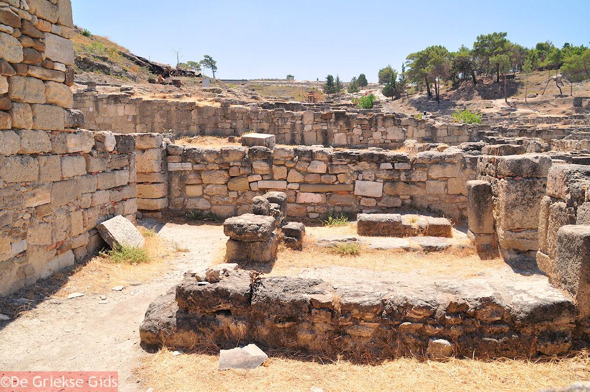 foto Kamiros was de kleinste van de drie Rhodiaanse steden uit de oudheid