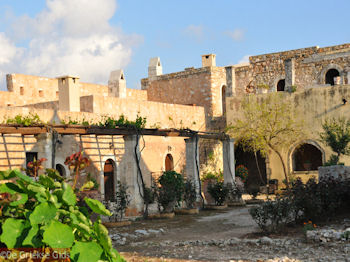 De cellen van de monnikken in Arkadi - Foto van De Griekse Gids