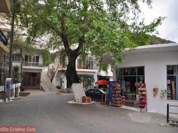 Het pleintje van Axos - Foto van De Griekse Gids