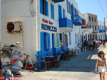 Cafe Bar Remezzo in Mandraki (Nisyros) - Foto von GriechenlandWeb.de