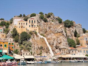 Een pittige trap - Eiland Symi - Foto van De Griekse Gids