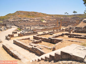 Kamiros (Rhodos), 36 km van de hoofdstad van Rhodos - Foto van De Griekse Gids
