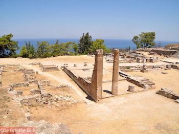 Dorische tempel Kamiros (Rhodos) - Foto von GriechenlandWeb.de