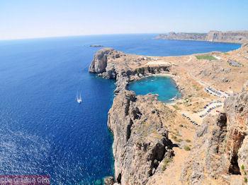 Indrukwekkend Lindos (Rhodos) - Foto GriechenlandWeb.de
