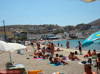 Nog een foto van het zandstrand van Pserimos - Foto von GriechenlandWeb.de