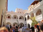 GriechenlandWeb Binnenplaats Michail Panormitis klooster- Insel Symi - Foto GriechenlandWeb.de